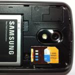 Micro SIM in a regular SIM socket